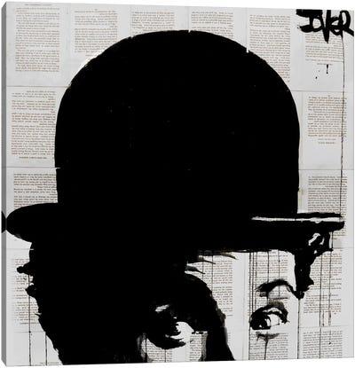 Charlie's Hat Canvas Art Print