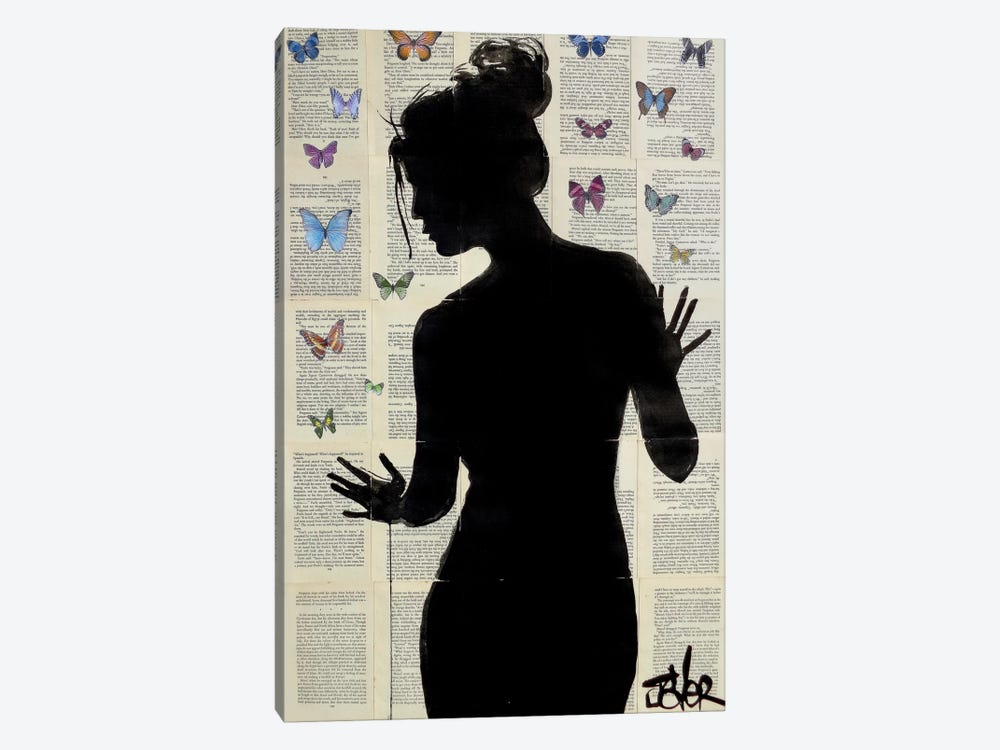Butterfly Effect by Loui Jover 1-piece Canvas Print