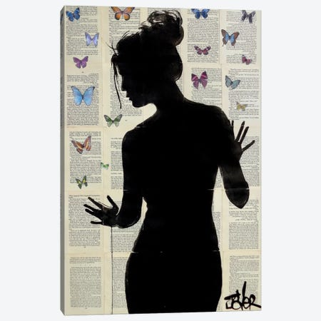Butterfly Effect Canvas Print #LJR97} by Loui Jover Canvas Art