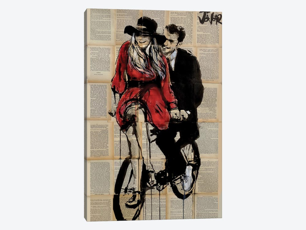 Days In Bliss by Loui Jover 1-piece Canvas Wall Art