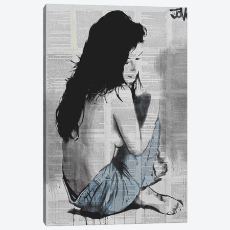 Jeans Canvas Print #LJR9} by Loui Jover Canvas Wall Art