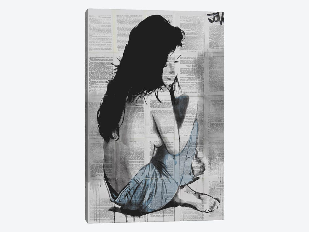 Jeans by Loui Jover 1-piece Art Print