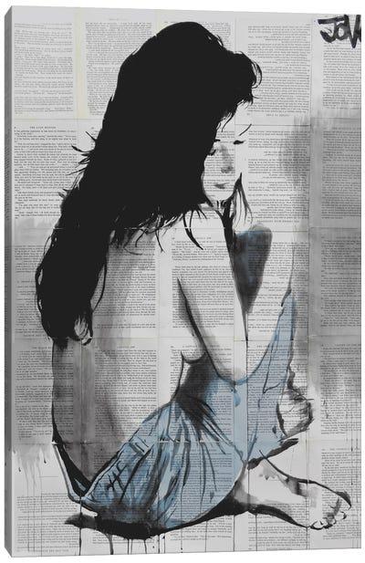 Jeans Canvas Art Print