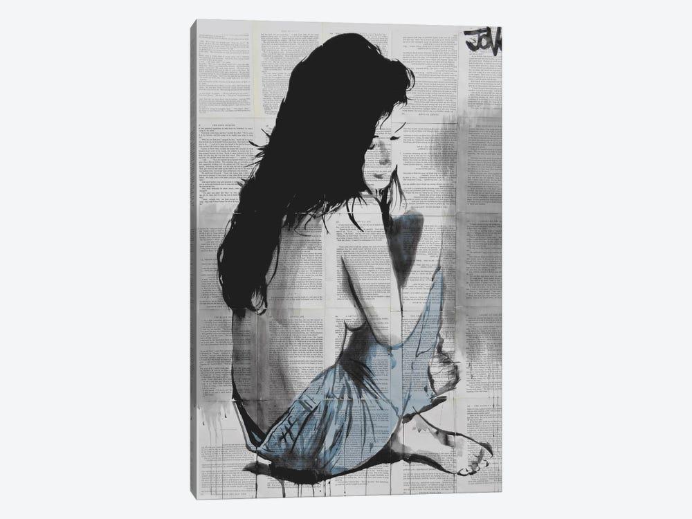 Jeans by Loui Jover 1-piece Art Print