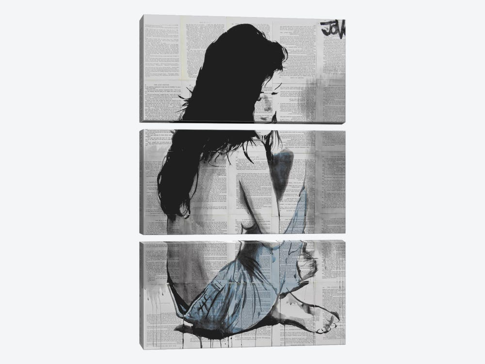 Jeans by Loui Jover 3-piece Art Print