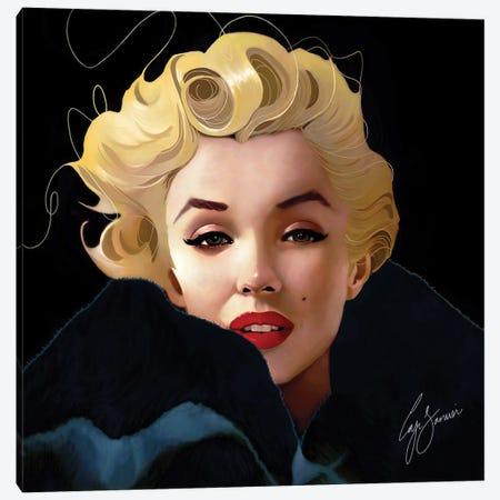 Monroe Canvas Print #LJS16} by Laji Sanusi Canvas Art Print