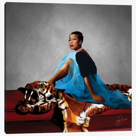 The Things We Truly Love Canvas Print #LJS17} by Laji Sanusi Art Print