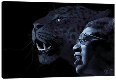 The Panther and The Messiah Canvas Art Print