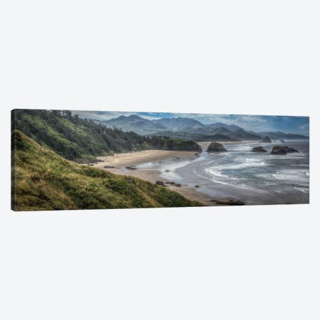 Coastal Serenity Canvas Print #LJT1} by Larry J. Taite Canvas Artwork