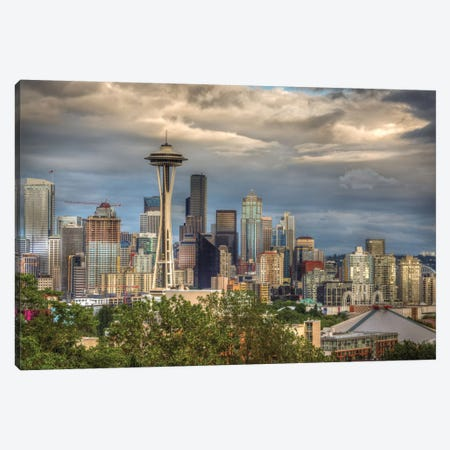 Seattle Canvas Print #LJT2} by Larry J. Taite Canvas Art