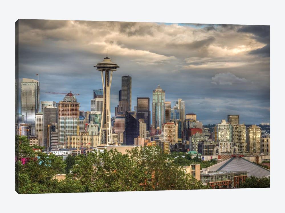 Seattle by Larry J. Taite 1-piece Canvas Art