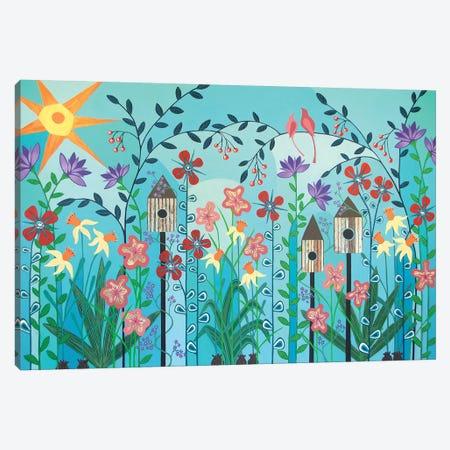 Can't Wait Til Spring  Canvas Print #LJU11} by Lisa Frances Judd Canvas Art