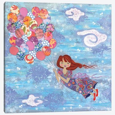 Fly High I Canvas Print #LJU15} by Lisa Frances Judd Canvas Print