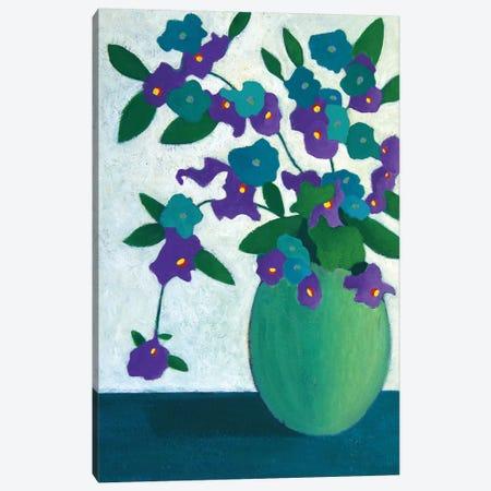 Fresh Flowers In The Morning  Canvas Print #LJU18} by Lisa Frances Judd Canvas Wall Art