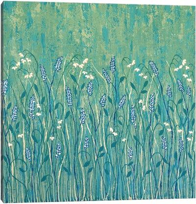 Abundant Wild Flowers  Canvas Art Print