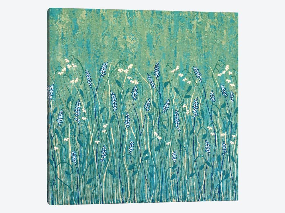 Abundant Wild Flowers  by Lisa Frances Judd 1-piece Canvas Art
