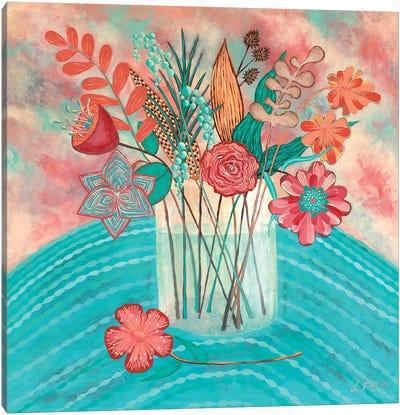Gentle Blooms  Canvas Art Print