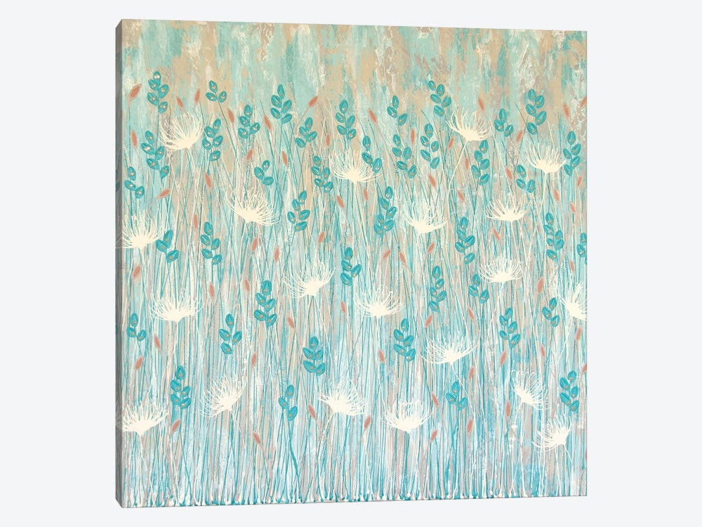 Pearlessent Wild Flowers  by Lisa Frances Judd 1-piece Canvas Print