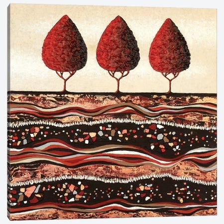 Red Trees  Canvas Print #LJU38} by Lisa Frances Judd Canvas Wall Art