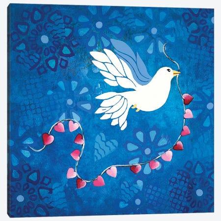 Bird Of Peace  Canvas Print #LJU4} by Lisa Frances Judd Canvas Artwork