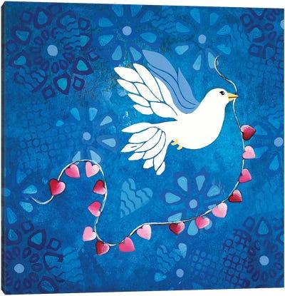 Bird Of Peace  Canvas Art Print