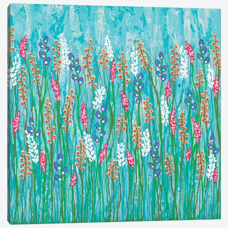 You Belong In The Wild Flowers  Canvas Print #LJU52} by Lisa Frances Judd Canvas Artwork
