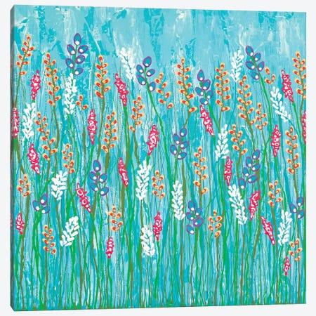 Walk In The Wildflowers no.1 Canvas Print #LJU62} by Lisa Frances Judd Canvas Art Print