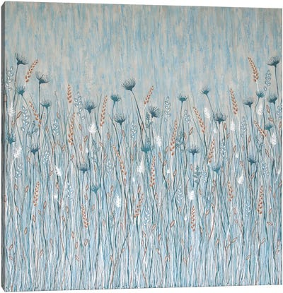 Coastal Wild Flowers Canvas Art Print
