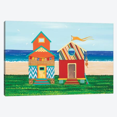 Beach Holiday I Canvas Print #LJU68} by Lisa Frances Judd Canvas Print