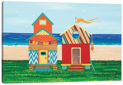 Beach Holiday I Canvas Art Print