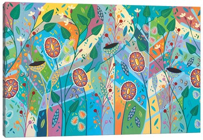 Blooming Marvelous Canvas Art Print
