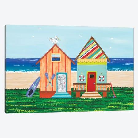 Beach Holiday III Canvas Print #LJU70} by Lisa Frances Judd Canvas Wall Art