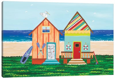 Beach Holiday III Canvas Art Print