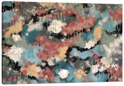 Strolling Home Canvas Art Print