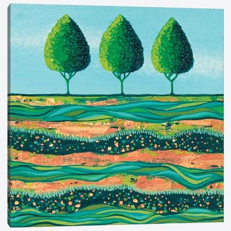 Lime-Light Trees Canvas Print #LJU83} by Lisa Frances Judd Canvas Art Print