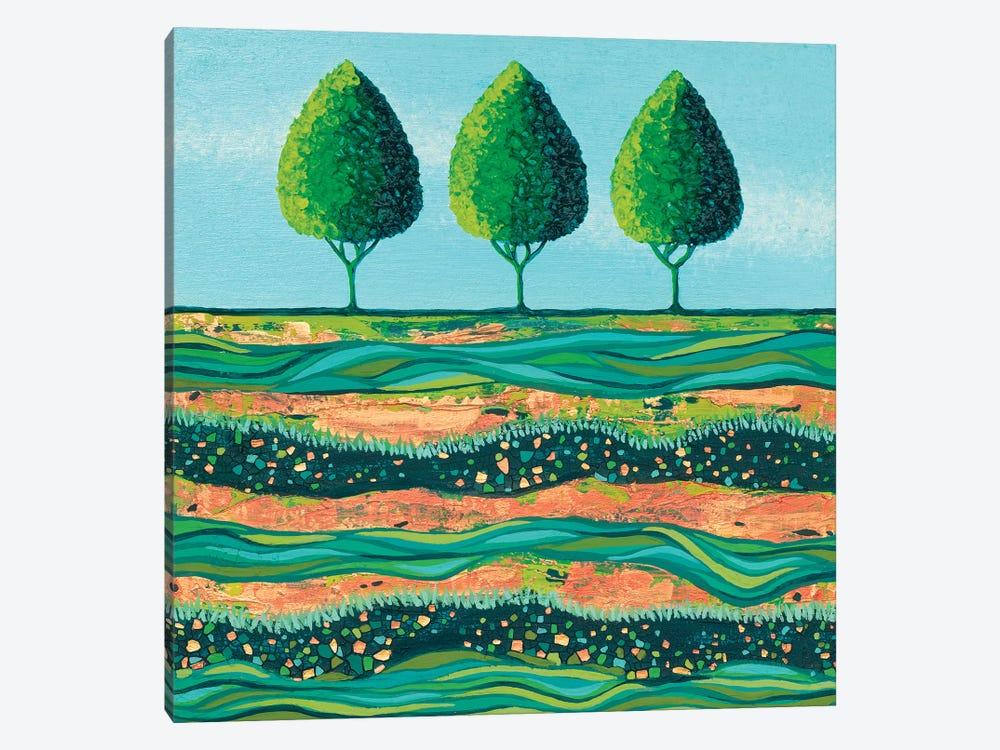 Lime-Light Trees by Lisa Frances Judd 1-piece Canvas Art Print