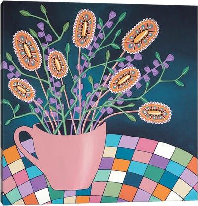 Cup Of Joy Canvas Art Print