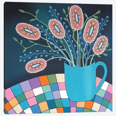 Mug Of Joy Canvas Print #LJU87} by Lisa Frances Judd Canvas Artwork