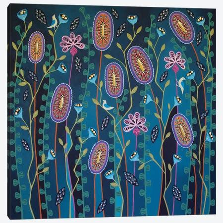 Blooming Delightful Canvas Print #LJU88} by Lisa Frances Judd Canvas Art Print