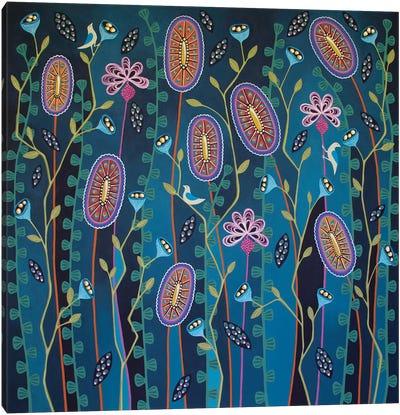 Blooming Delightful Canvas Art Print