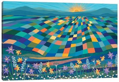 Bright Sun Shiny Day  Canvas Art Print