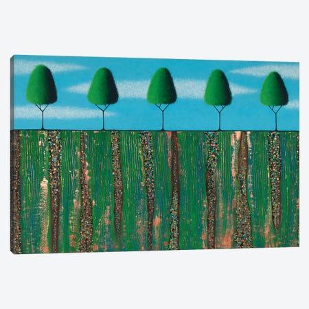 Trees Of Spring Canvas Print #LJU90} by Lisa Frances Judd Canvas Art