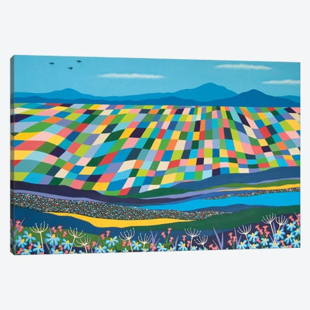 It'S A Wonderful World Canvas Print #LJU93} by Lisa Frances Judd Canvas Art