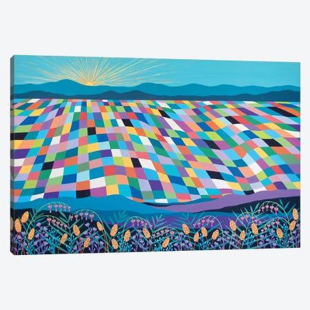Hello Sunshine 3-Piece Canvas #LJU96} by Lisa Frances Judd Canvas Print