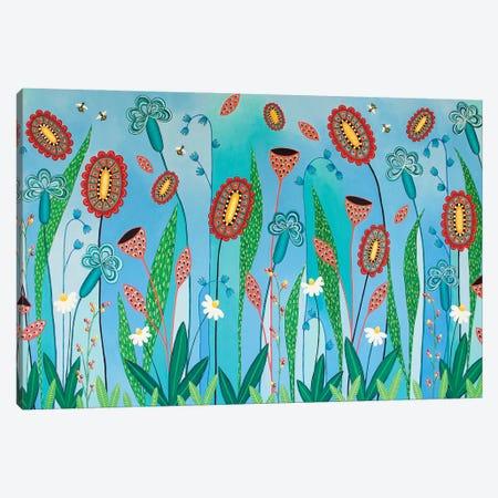 Blooming Abundance Canvas Print #LJU99} by Lisa Frances Judd Canvas Wall Art