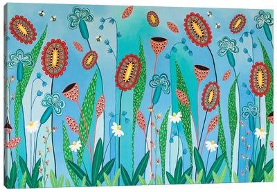 Blooming Abundance Canvas Art Print