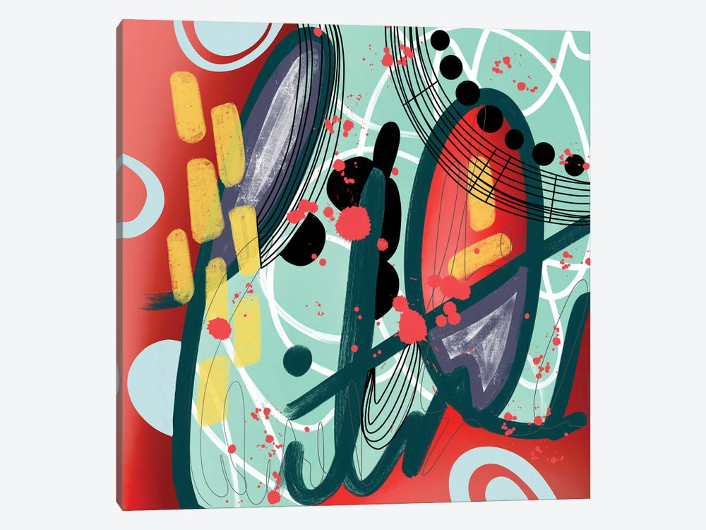 Seeing It by Lanie K. Art 1-piece Canvas Art Print