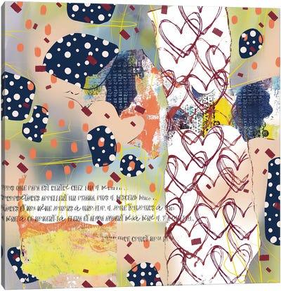 The Love Lockkeeper Canvas Art Print