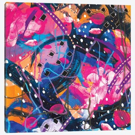 Broken & Bruised Canvas Print #LKA16} by Lanie K. Art Canvas Wall Art