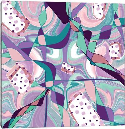 Grape Crush Canvas Art Print